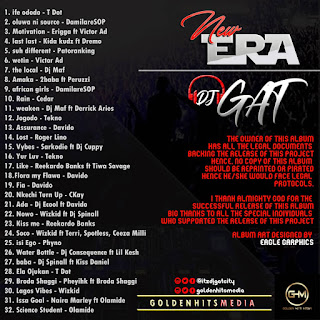 New Era Mixtape by GoldenhitsMedia x DJ Gat