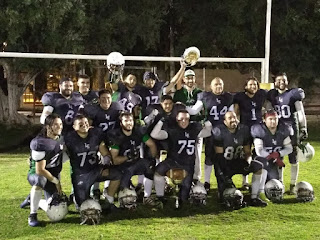 FÚTBOL AMERICANO - El Club Ilicitano Linces se estrena siendo los nuevos campeones de la Orange Bowl