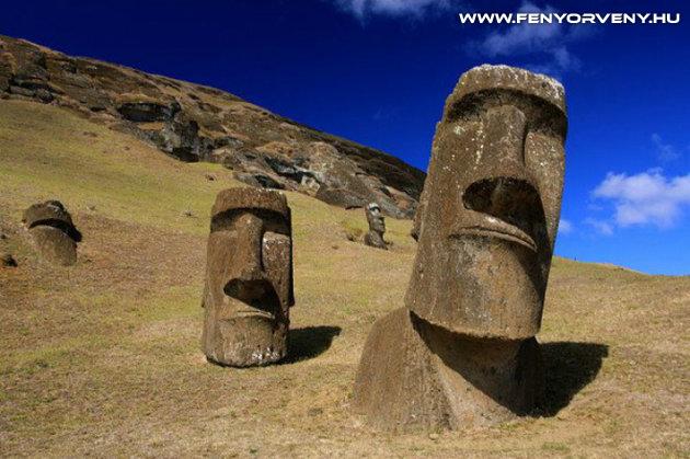 A moai szobrok rejtélye