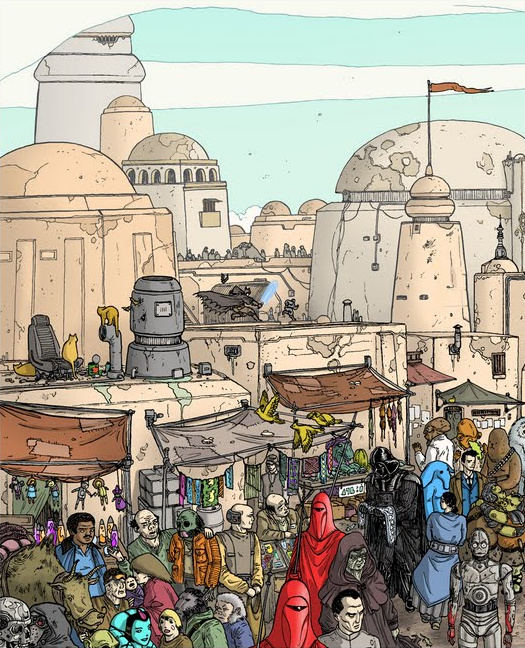 Doctor Ojiplatico. Ulises Farinas. High Res Tatooine
