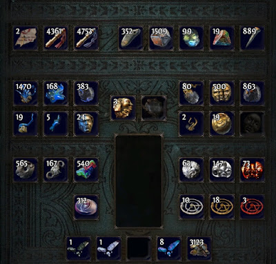 My Currency Item Storage Tab End Of Patch 2 6 Legacy League And Even More Types Were Introduced In 3 0