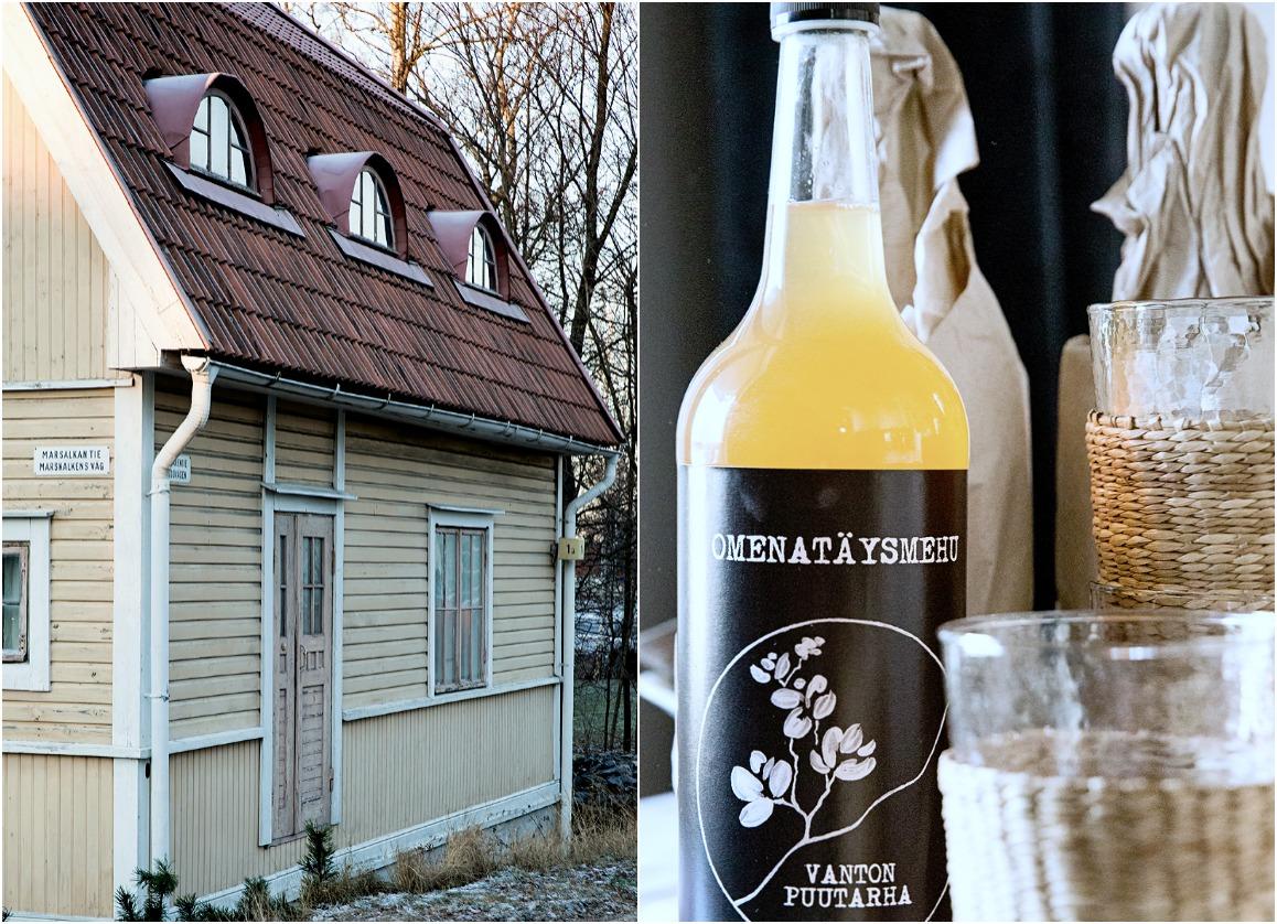 Brunssi, joulukuu, aamiainen, ruoka, munakasrulla, salaatti, resepti, joulutorttu, Kulosaari, Helsinki, omenamehu