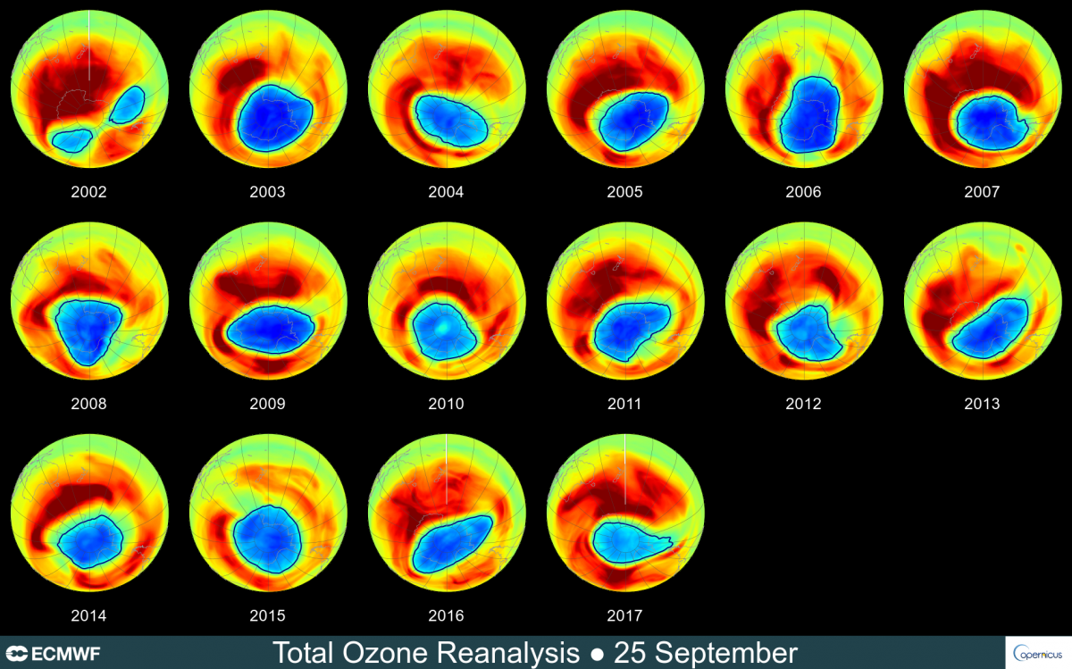 Good News: NASA's Study Proves The Gradual Ozone Hole Recovery