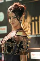 Sanjjanaa Galrani aka Archana Galrani in Maroon Gown beautiful Pics at IIFA Utsavam Awards 2017 31.JPG