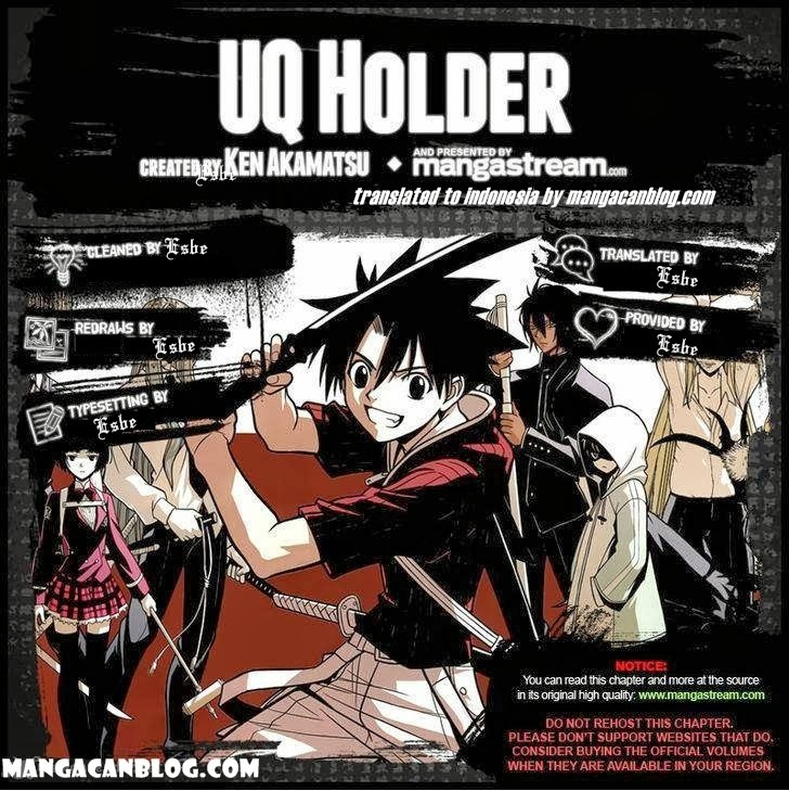 UQ Holder! Chapter 6