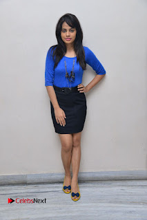 Actress Nandita Swetha Stills in Black Mini Skirt at Ekkadiki Potavu Chinnavada Movie Special Show  0057.JPG