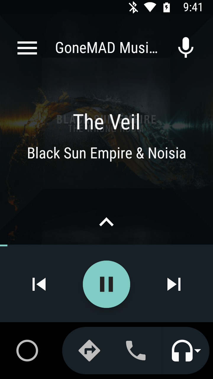 GoneMAD Music Player: 3 0 WIP 19: On Queue Completion, Android Auto