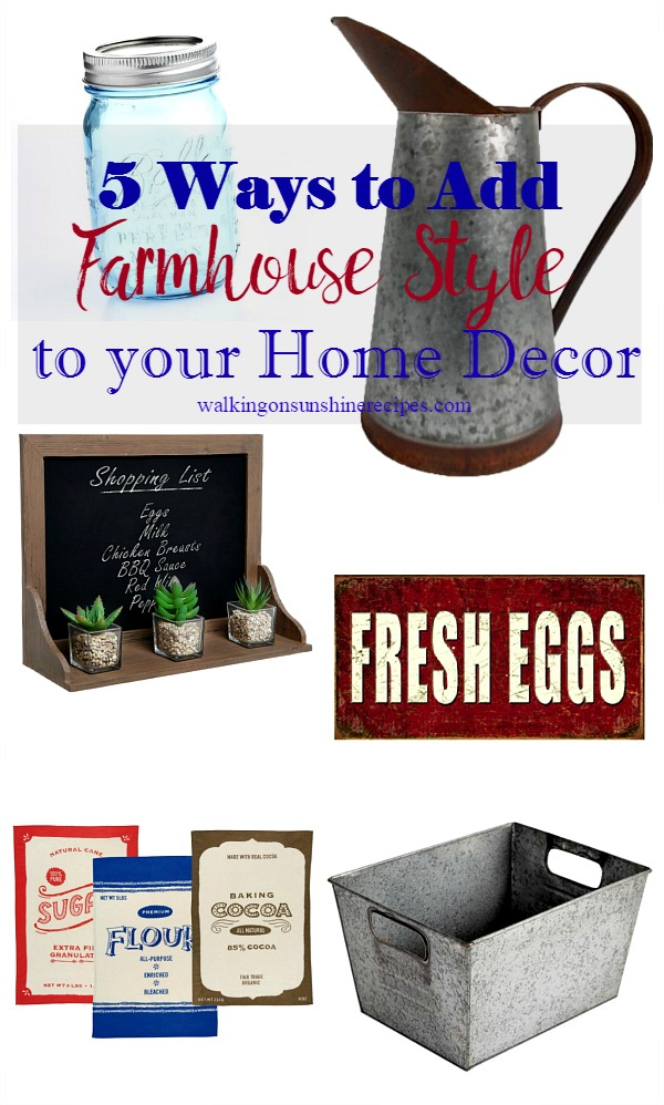 Farmhouse Style Decor Items