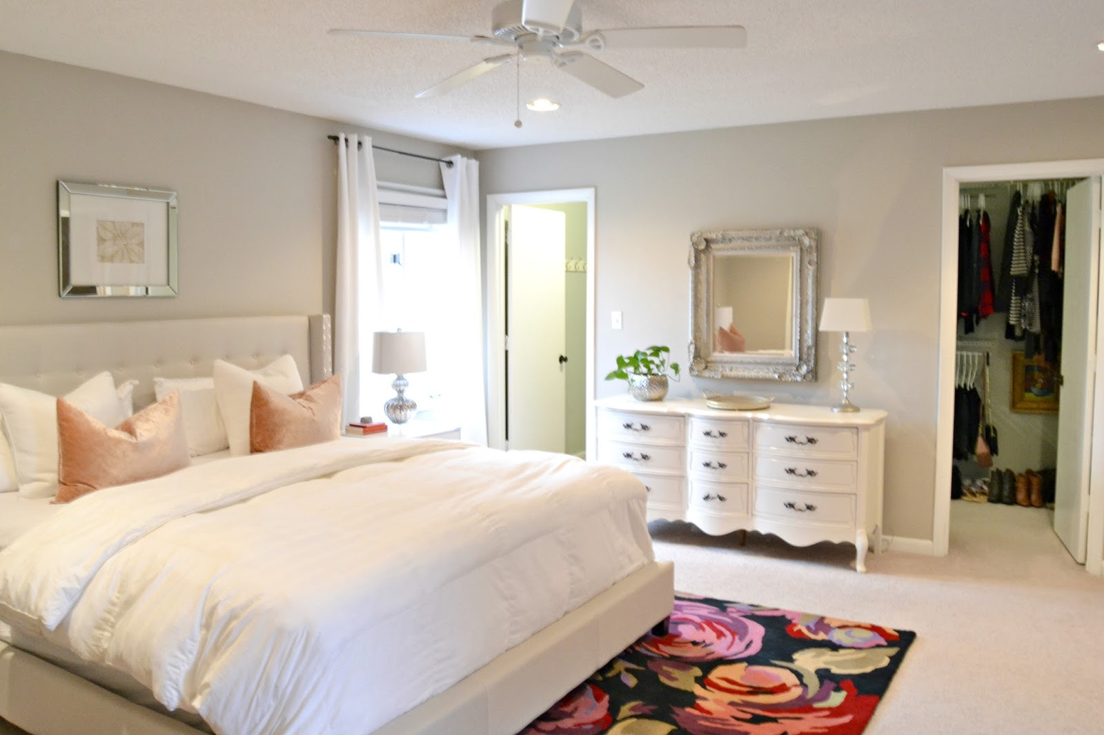 livelovediy: master bedroom decorating updates!