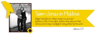 Team Jones in Moldova