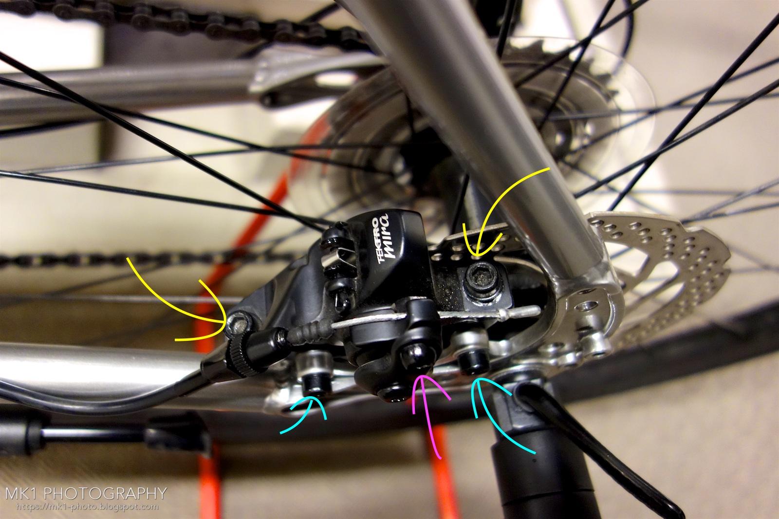 ブレーキ 直し 方 自転車