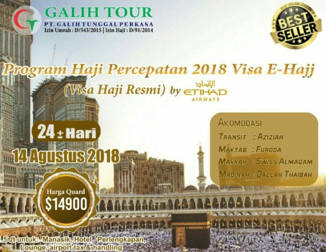 percepatan haji plus 2018