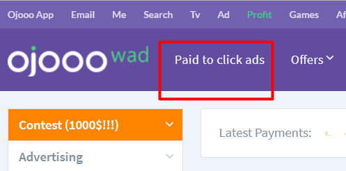 Ojooo Paid to click ads Bangla Tutorial