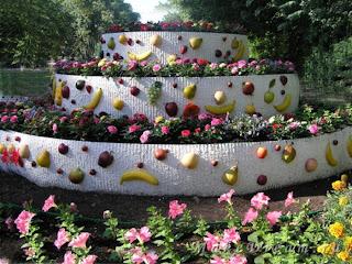 клумбы,цветники,газоны