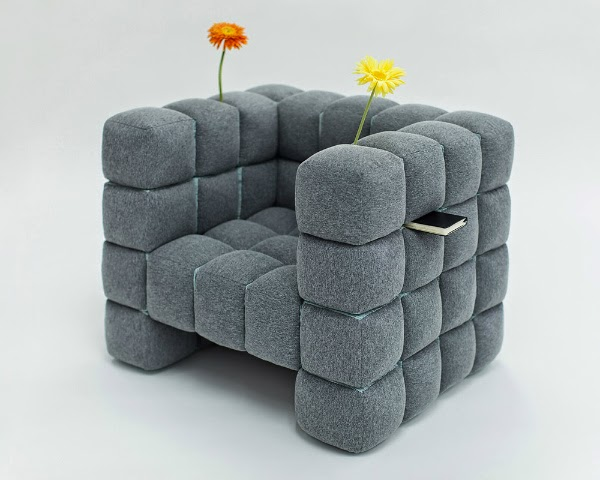 65 Creative Furniture Ideas Spicytec   Bubble Sofa Von Versace