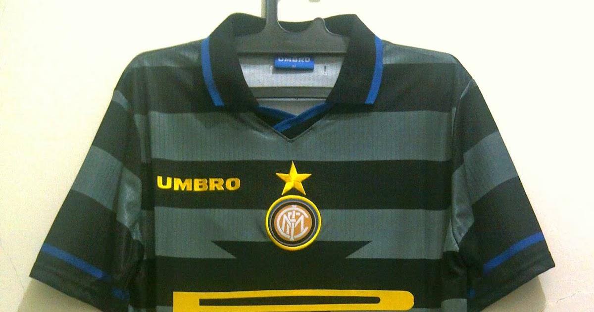 Inter milan 3rd 1997 98 football factory store for Milan factory outlet