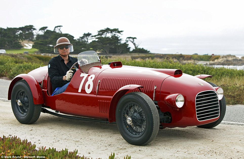 1947 Ferrari 166 Spyder Corsa Is Believed That This Is The Worldu0027s Oldest  Ferrari, Which Has Been Unveiled For The First Time Since Being Completely  ...