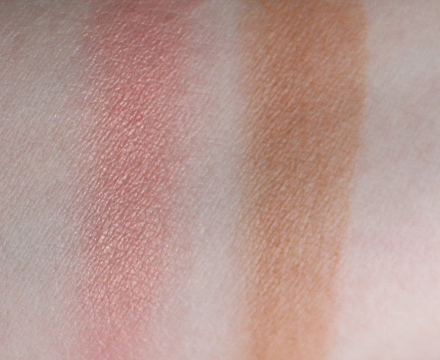 Sothys Blush 40 Rose Estival Bronzing Powder 40 Terre Lointaine Swatches
