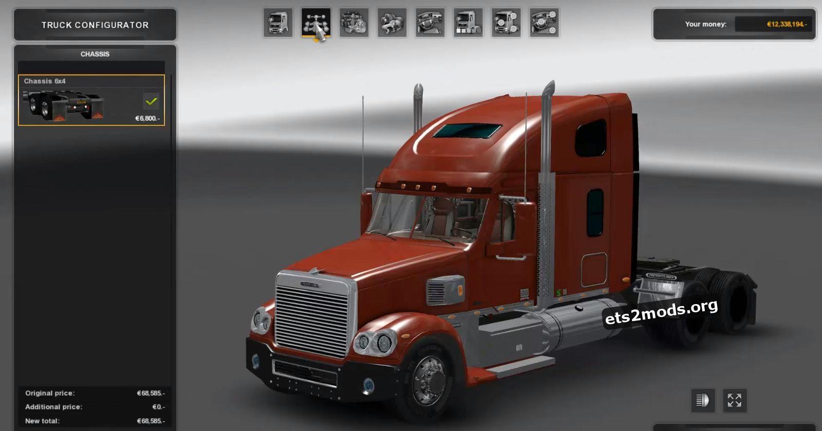 Freightliner Coronado Truck v 1.3