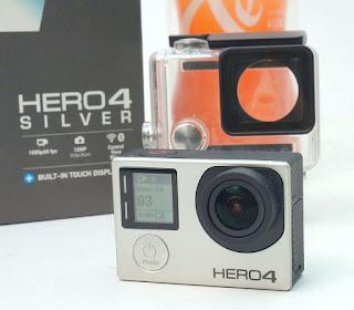 Jual Go Pro Hero 4 Silver