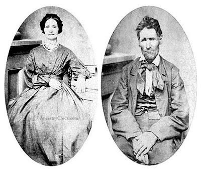 John D Sutton and Susannah (Dodge) Sutton - Surname Saturday