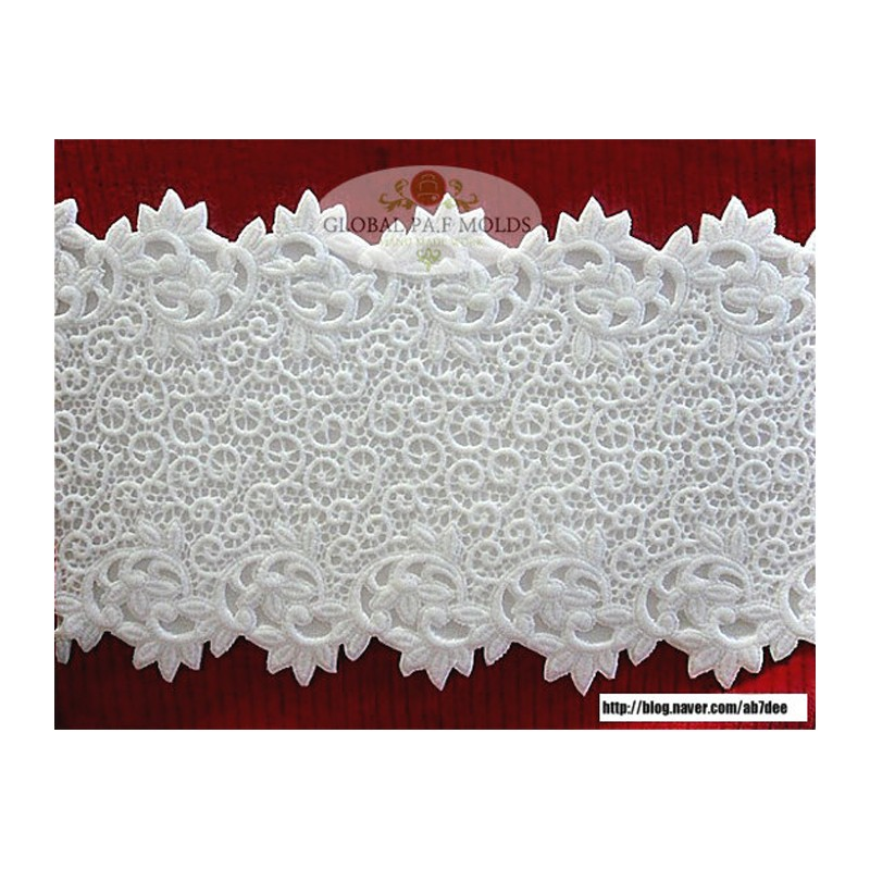 Doily 7 Global PAF Silicone Fondant Mold
