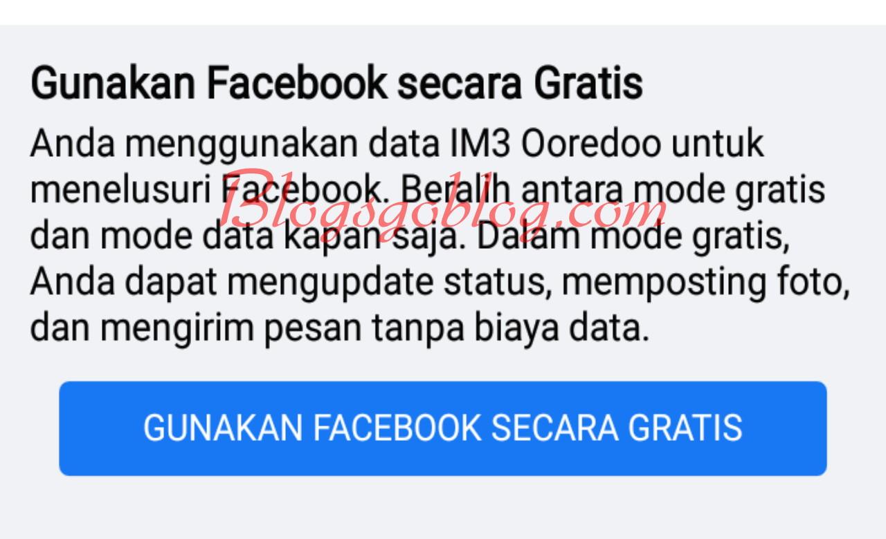 Cara Menampilkan Tombol Mode Gratis Facebook yang Hilang Terbaru