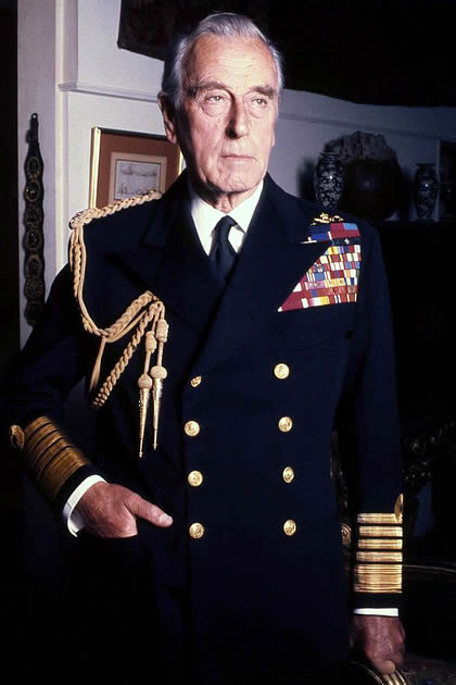 Lord Louis Mountbatten - British Political Leader