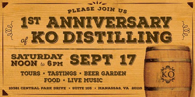 1st Anniversary of KO Distilling
