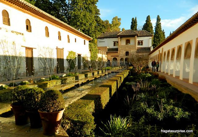 Pátio de los Aljibes, Palácio Generalife, Alhambra