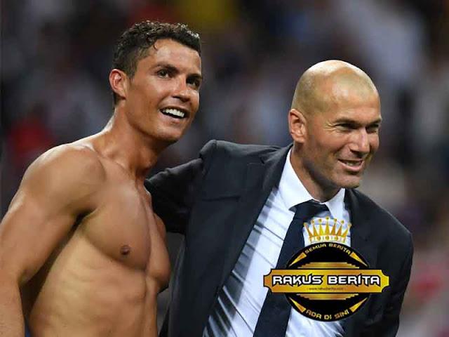 Zidane : Saya Ingin Menjadi Ronaldo