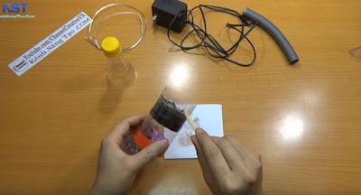 Tự chế tạo máy hút bụi cầm tay