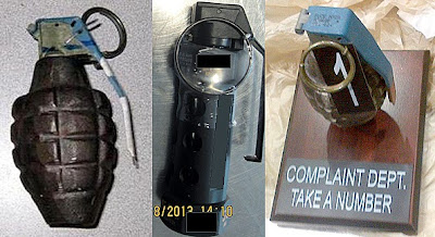 Grenades Discovered at (L-R) ATL, SAN, BWI