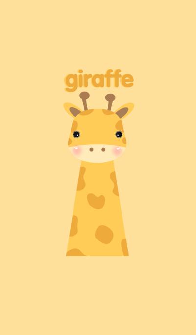 Simple giraffe