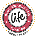 Tredjeplats i Life blog awards 2015