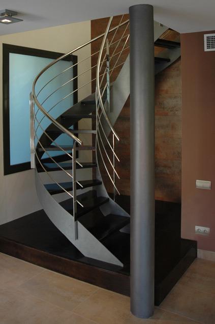 Revista digital apuntes de arquitectura alternativas a for Como hacer escaleras de caracol de concreto