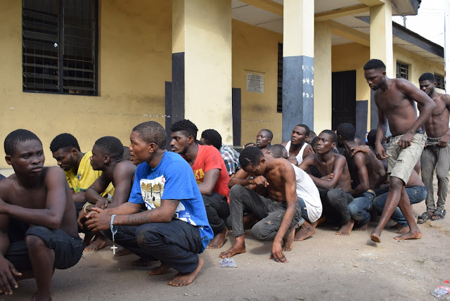 Lagos arraigns 70 suspected cultists...Vows to stamp out cultism, other social vices