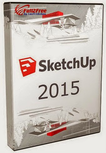 Google SketchUp Pro 2015 with Crack