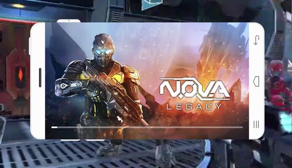 العاب الاندرويد - اللعبة الحربية NOVA Legacy من افضل العاب الاندرويد