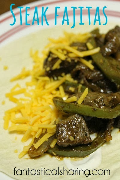 Steak Fajitas #recipe #steak #fajitas #maindish