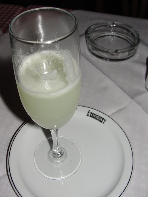 Pisco Sour no Liguria