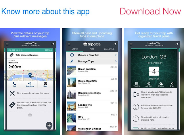 Download TripCase for iOS