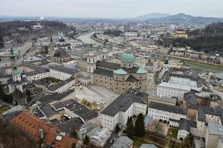 Vistas de Salzburgo desde Hohensalzburgo.