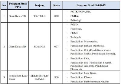 Linieritas Bidang studi PPG dalam jabatan dengan ijasah S1/D4