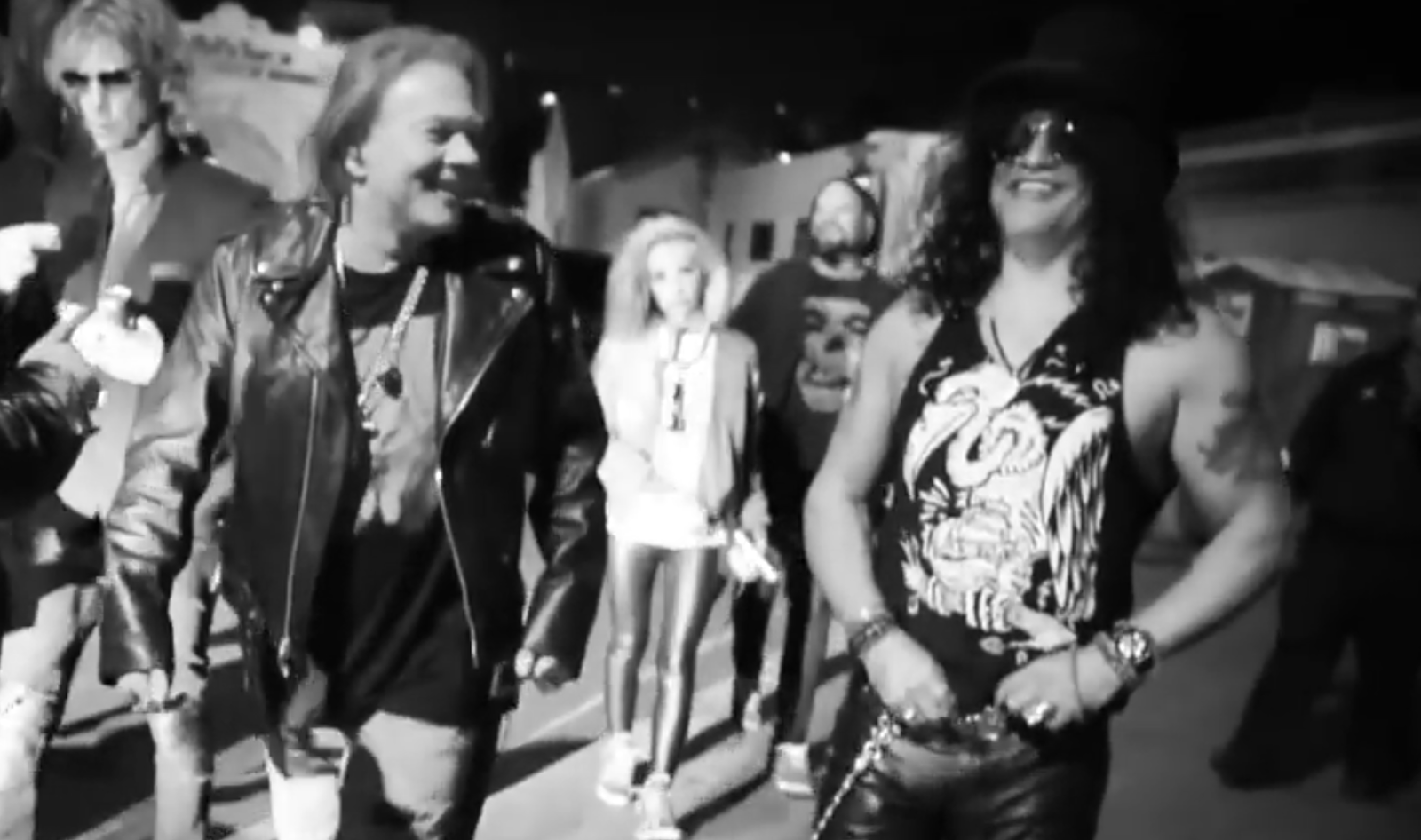 Guns N' Roses - Axl, Slash and Duff