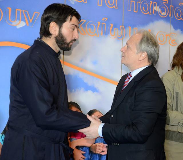Γιάννης Ανδριανός για τη βράβευση του π. Αντώνιου με το Βραβείο Ευρωπαίου Πολίτη
