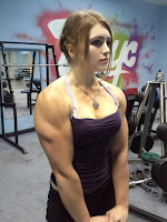 Beautiful Female Bodybuilders who do have larger muscles