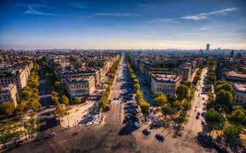 Wallpaper: Champs Elysees
