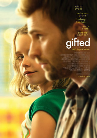 Gifted 2017 BluRay 300Mb Hindi Dubbed Dual Audio 480p Watch Online Full Movie Download bolly4u