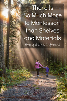 There is so much more to Montessori than shelves and materials.